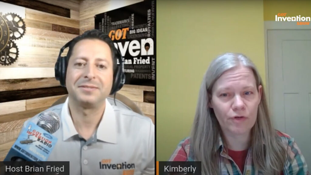 Inventor Guest, Kimberly Kirkup